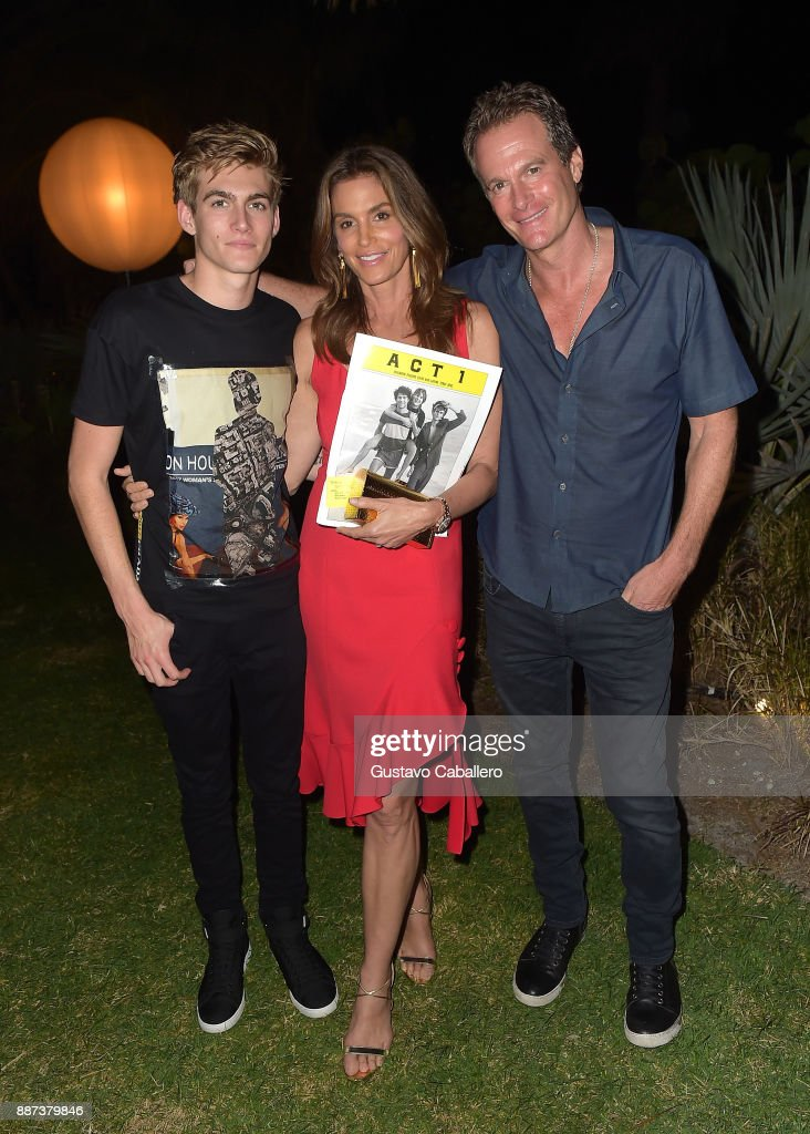 The Daily Front Row celebrates the Launch of Act1 with Presley Walker Gerber, Cindy Crawford and Rande Gerber presented by LIFEWTR at Faena Hotel on December 6, 2017 in Miami Beach, Florida.