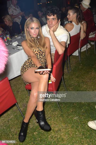 The Daily Front Row celebrates the Launch of Act1 with Sebastian Faena and Paris Hilton presented by LIFEWTR at Faena Hotel on December 6 2017 in...