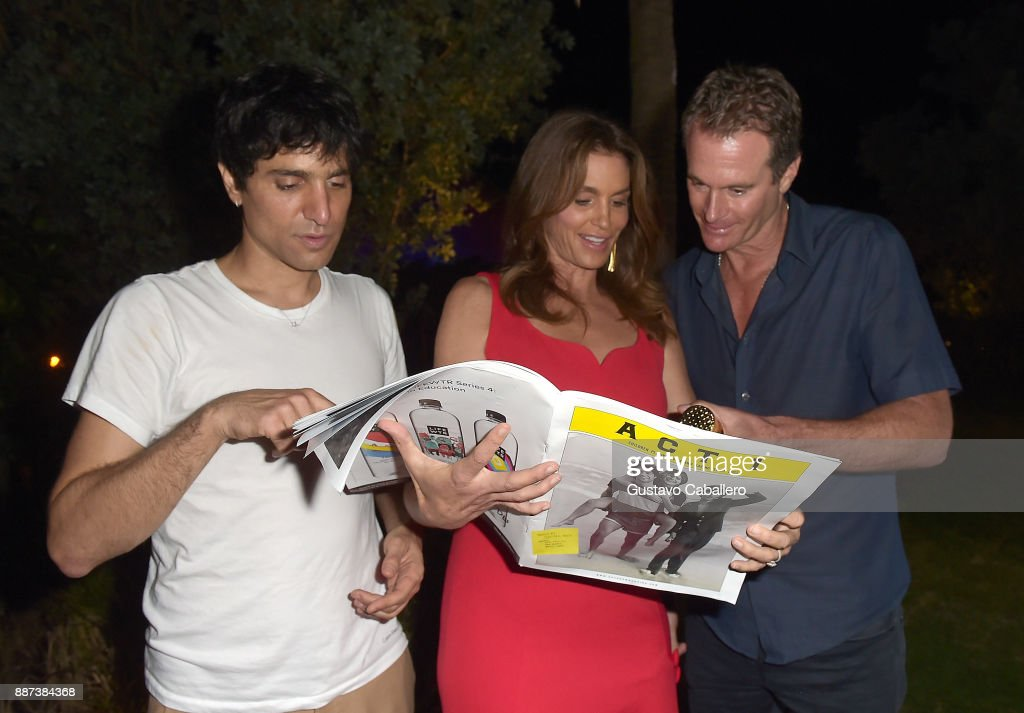 The Daily Front Row celebrates the Launch of Act1 with Sebastian Faena, Cindy Crawford and Rande Gerber presented by LIFEWTR at Faena Hotel on December 6, 2017 in Miami Beach, Florida.