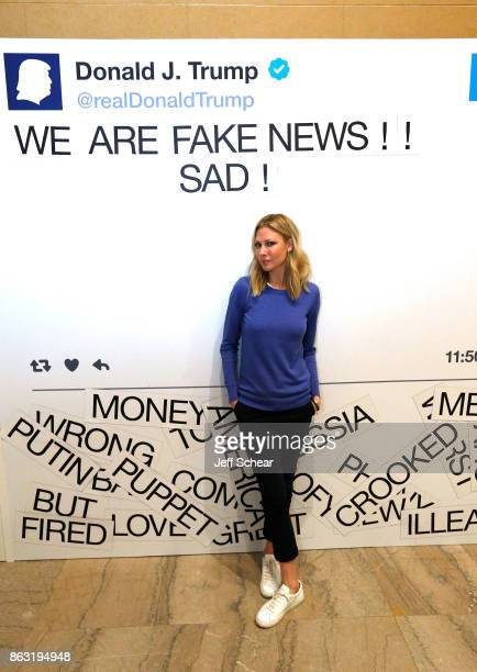 The Daily Show correspondent Desi Lydic attends Comedy Central's The Daily Show Presents The Donald J Trump Presidential Twitter Library press...