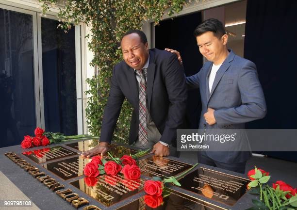 The Daily Show correspondents Roy Wood Jr and Ronny Chieng attend Comedy Central's The Daily Show Presents The Donald J Trump Presidential Twitter...
