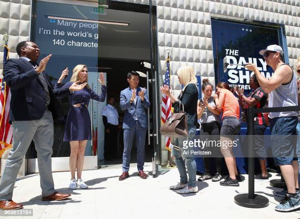 The Daily Show correspondents Roy Wood Jr Desi Lydic and Ronny Chieng wewlcome guests to Comedy Central's The Daily Show Presents The Donald J Trump...