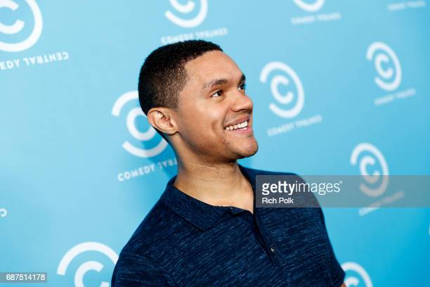 The Daily Show host Trevor Noah attends the Comedy Central Press Day on May 23 2017 in Los Angeles California
