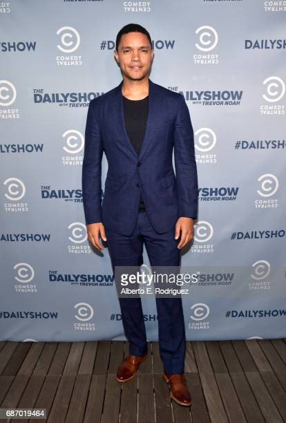 The Daily Show host Trevor Noah attends The Daily Show FYC 2017 on May 22 2017 in Hollywood California