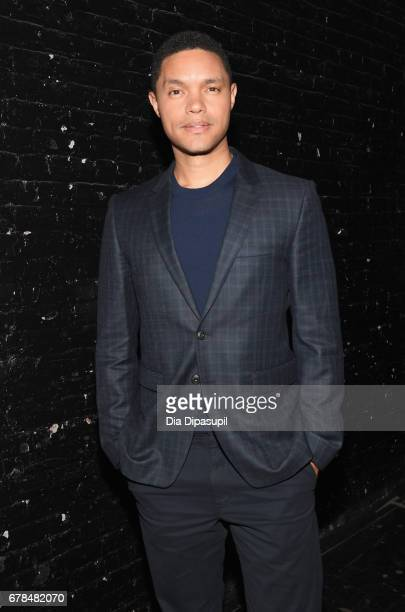 The Daily Show host Trevor Noah attends Time Inc NewFront 2017 at Hammerstein Ballroom on May 4 2017 in New York City