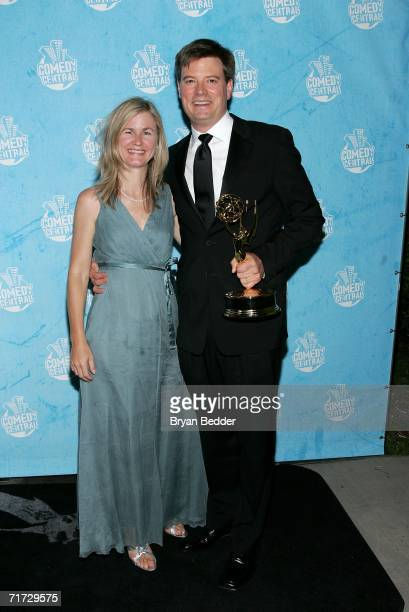 'The Daily Show' Jason Ross and guest arrive at the Comedy Central Emmy Party held at the Falcon on August 27 2006 in Hollywood California 'The Daily...