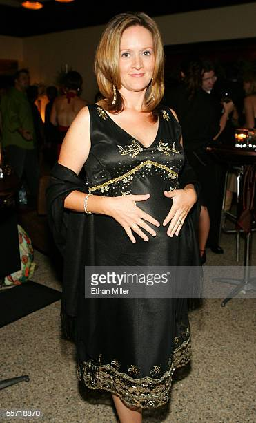 The Daily Show With Jon Stewart correspondent Samantha Bee attends the Comedy Central Emmy after party held at Meson G on September 18 2005 in Los...