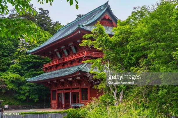the daimon at koyasan - koyasan stock-fotos und bilder
