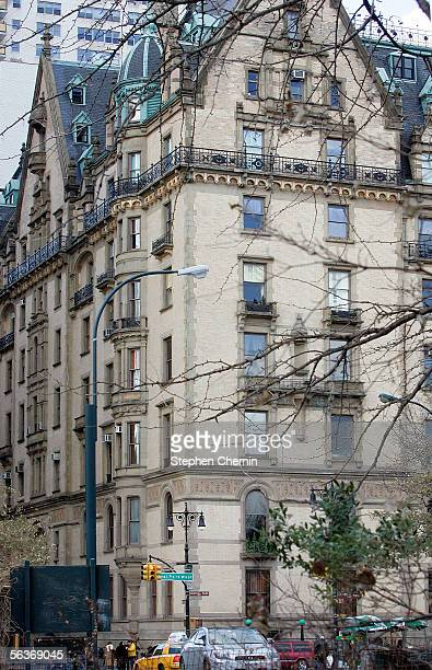 The Dakota building where John Lennon was murdered is shown December 7 2005 next to Central Park in New York City Lennon was killed by Mark David...