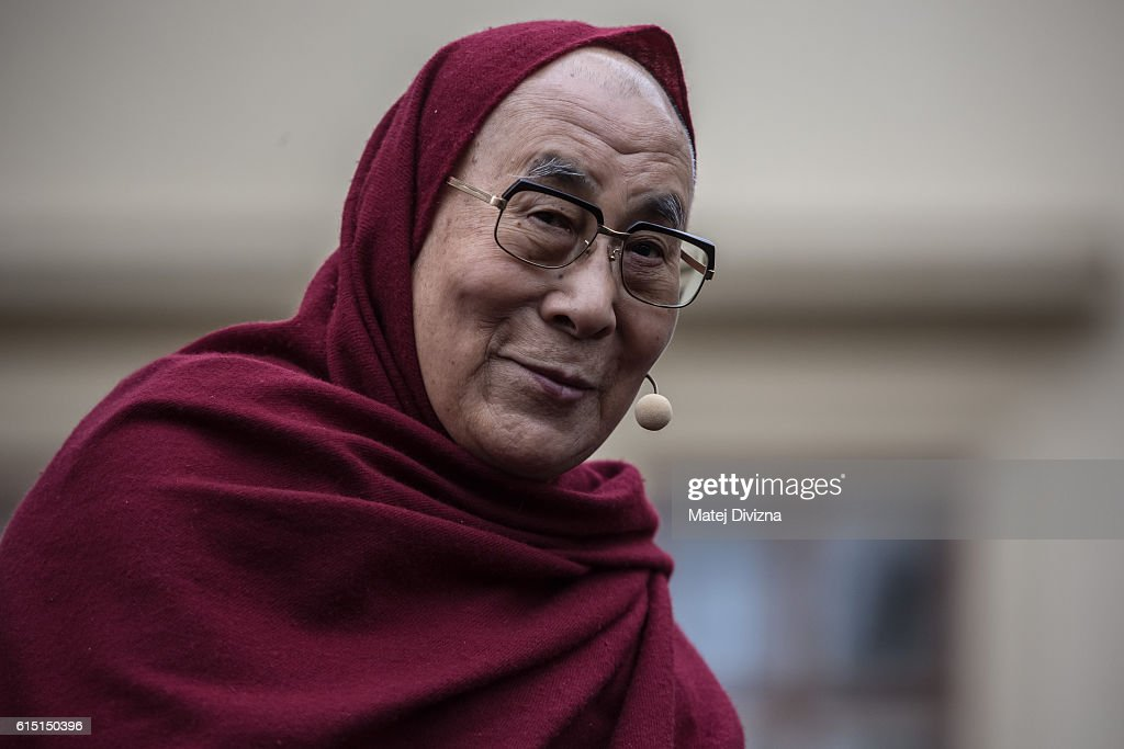 Dalai Lama Visits Prague