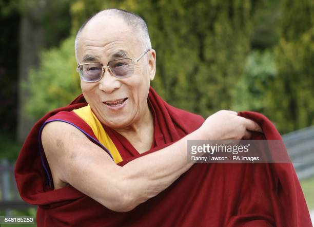 The Dalai Lama visits Blair Castle in Perthshire during his twoday tour of Scotland PRESS ASSOCIATION Photo Picture date Saturday June 23 2012 The...