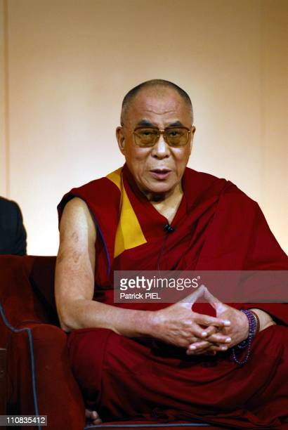 The DalaiLama In Hamburg Germany On July 21 2007 DalaiLama spends 9 days in Hamburg guest of the Tibetan cultural center of Hamburg to preside...