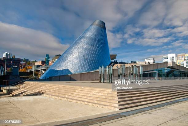 the museum of glass - tacoma stock pictures, royalty-free photos & images