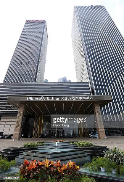 The Dalian Hilton Hotel operated by Hilton Worldwide Inc stands at the Dalian Wanda Center in Dalian China on Friday Sept 13 2013 Goldman Sachs Group...