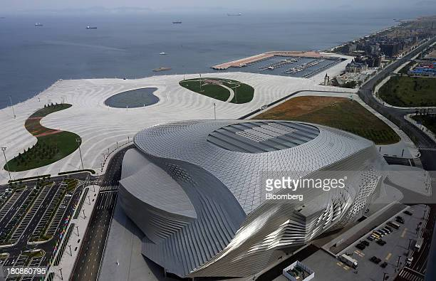 The Dalian International Conference Center sits at the Dalian Wanda Center in Dalian China on Friday Sept 13 2013 Goldman Sachs Group Inc this month...