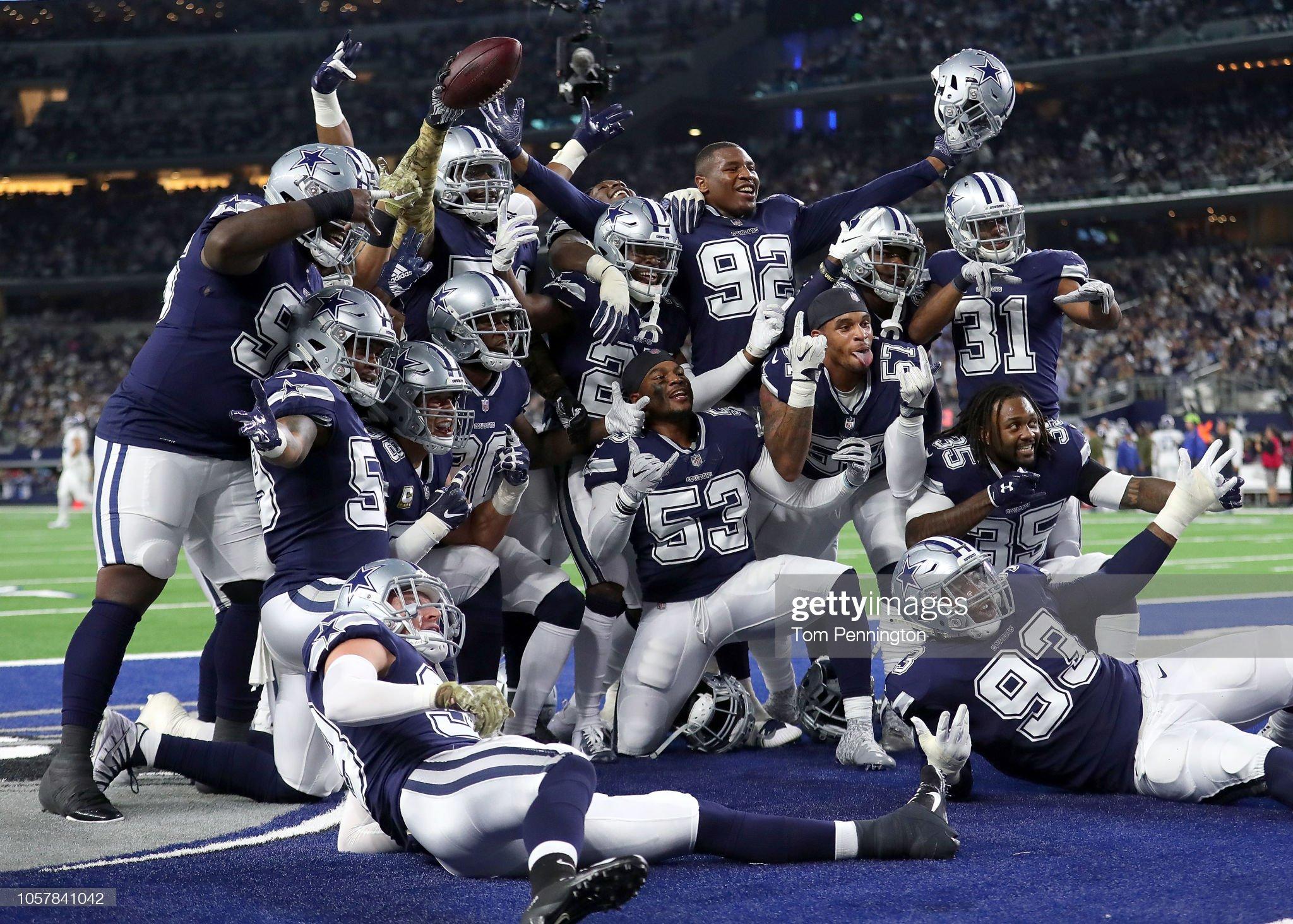 Tennessee Titans v Dallas Cowboys : Foto jornalística