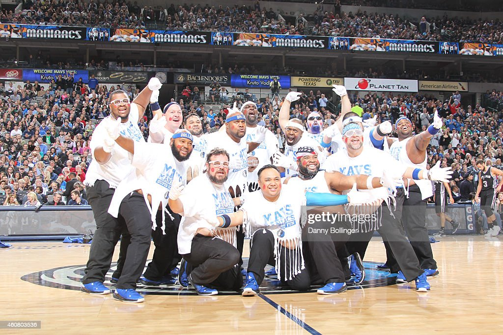 The Dallas Mavericks dance team performs during the game against the San Antonio Spurs on December 20, 2014 at the American Airlines Center in Dallas, Texas.