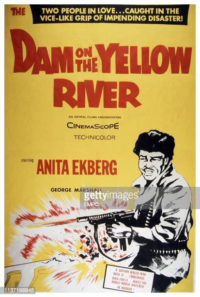 The Dam On The Yellow River poster poster 1960