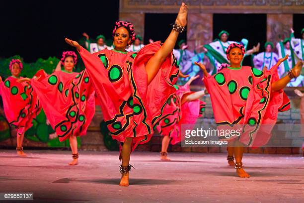 The Danaji The Legend Performance Includes Dance And Theater Based On Zapotec And Mixtec History And Takes Place During The Guelaguetza Festival In...