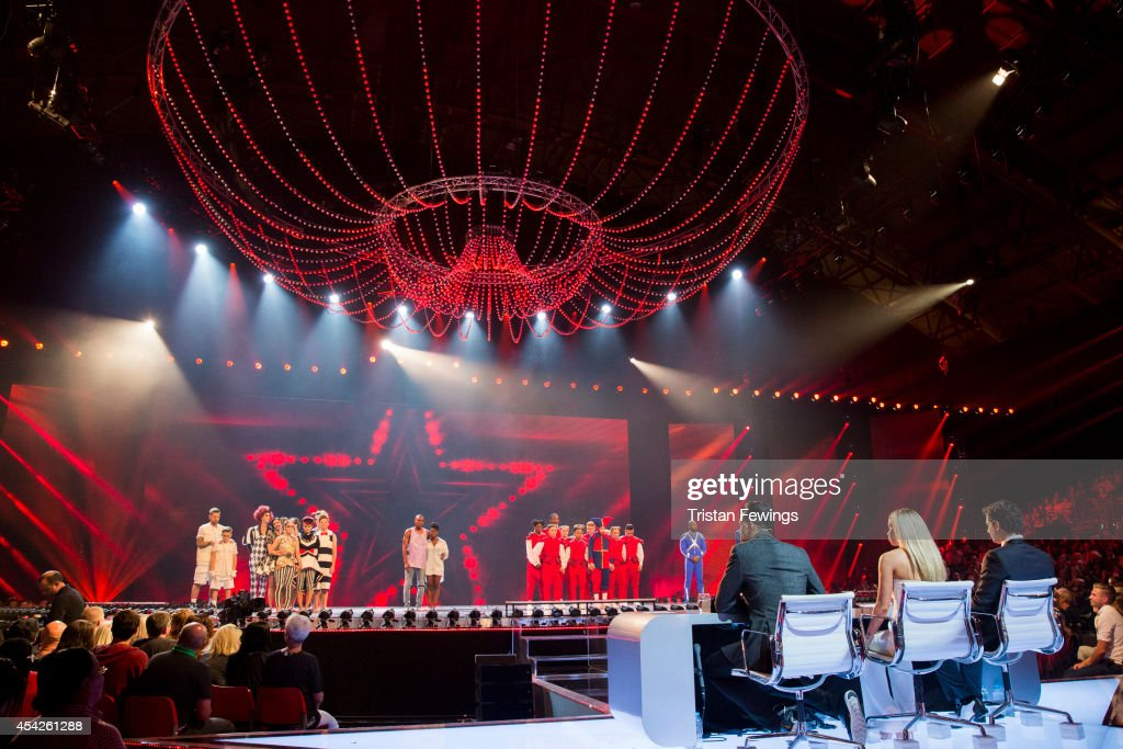 """Got To Dance"" - Third Live Show : News Photo"