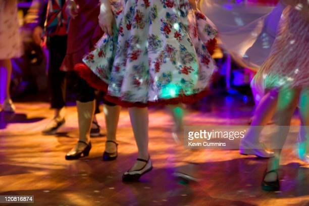 The dance floor at the Vintage Festival, held at the Royal Festival Hall in London, 31st July 2011.