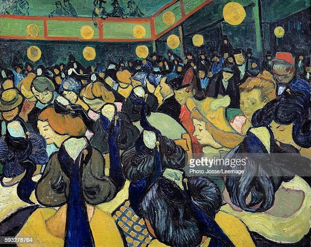 The dance Hall in Arles Painting by Vincent Van Gogh 1888 065 x 081 m Orsay Museum Paris