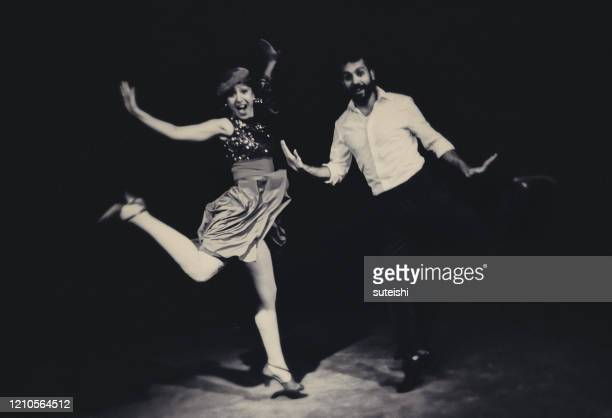 the dancers in a nightclub - early rock & roll stock pictures, royalty-free photos & images
