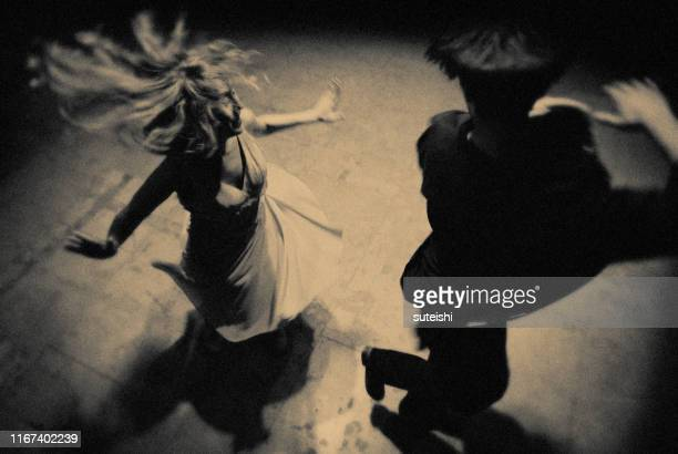 the dancers of the night - early rock & roll stock pictures, royalty-free photos & images