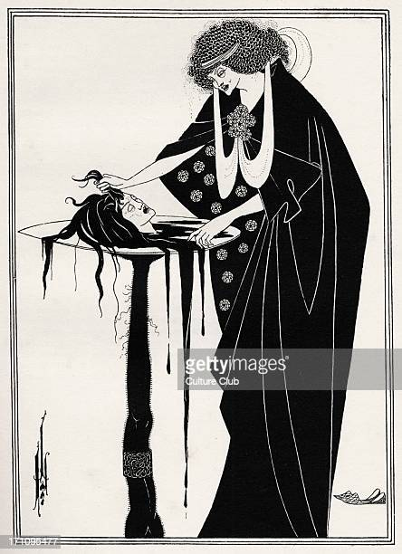 ' The Dancer's Reward ' Aubrey Beardsley 's illustration for ' Salome ' by Oscar Wilde first performed in England on 10 May 1905 Richard Strauss 's...