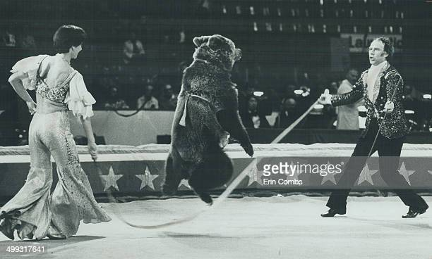 The Dancing bear act of Nellie and Rustam Kaseyev is unmatched anywhere in the world The animals are nver beaten into submission they are treated...
