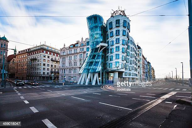 The Dancing House in Prague, Czech Republich