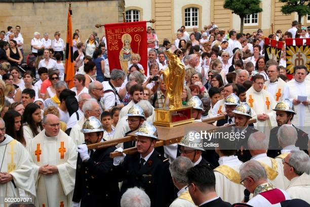 The dancing procession of Echternach is an annual Roman Catholic dancing procession held at Echternach, in eastern Luxembourg. Echternach's is the...