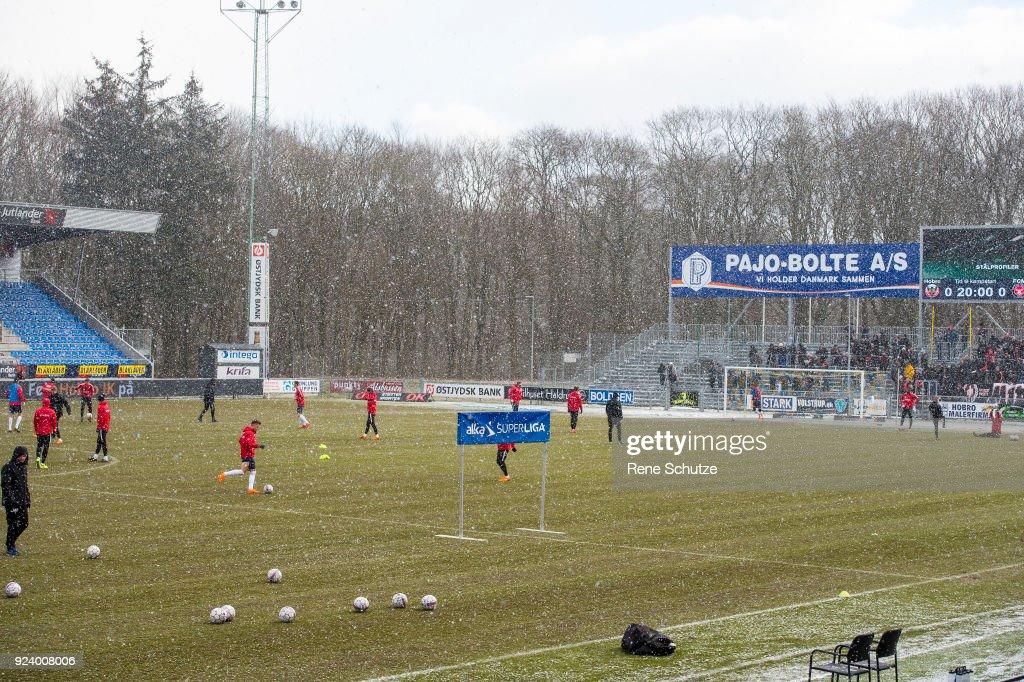 Hobro IK vs FC Midtjylland - Danish Alka Superliga