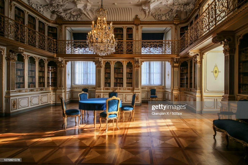 Queen's personal library  The-danish-queens-library-picture-id1070501078