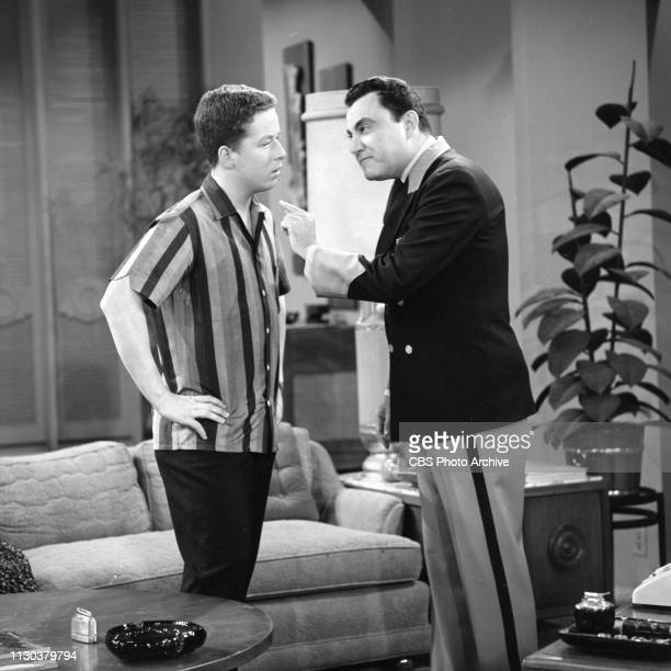 The Danny Thomas Show a CBS television situation comedy Episode Jose's Guided Tour originally broadcast February 25 1963 Pictured from left is Rusty...