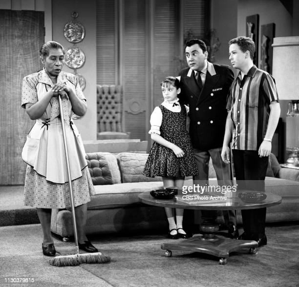 The Danny Thomas Show a CBS television situation comedy Episode Jose's Guided Tour originally broadcast February 25 1963 Pictured from left is Amanda...