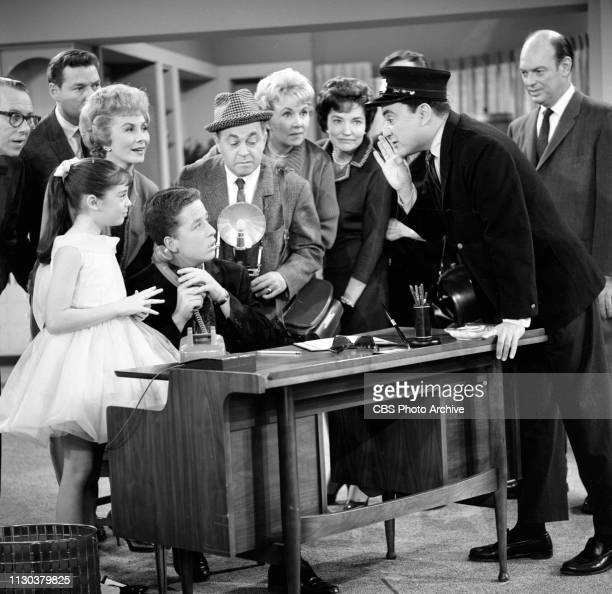 The Danny Thomas Show a CBS television situation comedy Episode Jose's Guided Tour originally broadcast February 25 1963 Pictured in the front row...