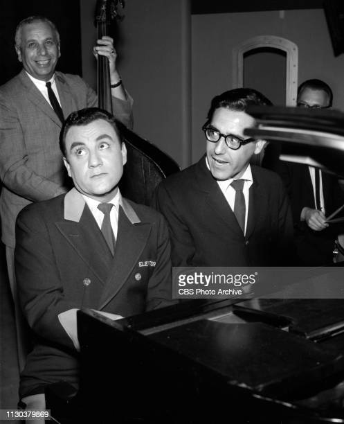 The Danny Thomas Show a CBS television situation comedy Episode Jose's Guided Tour originally broadcast February 25 1963 Seated at left is Bill Dana
