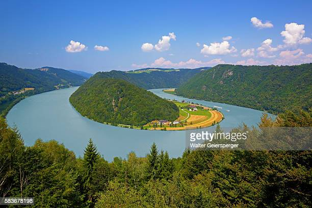 The Danube River, Austria