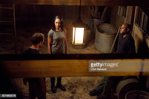 SHOOTER 'The Dark End of the Street' Episode 204 Pictured Ryan Phillippe as Bob Lee Swagger Cynthia AddaiRobinson as Agent Nadine Memphis Omar Epps...