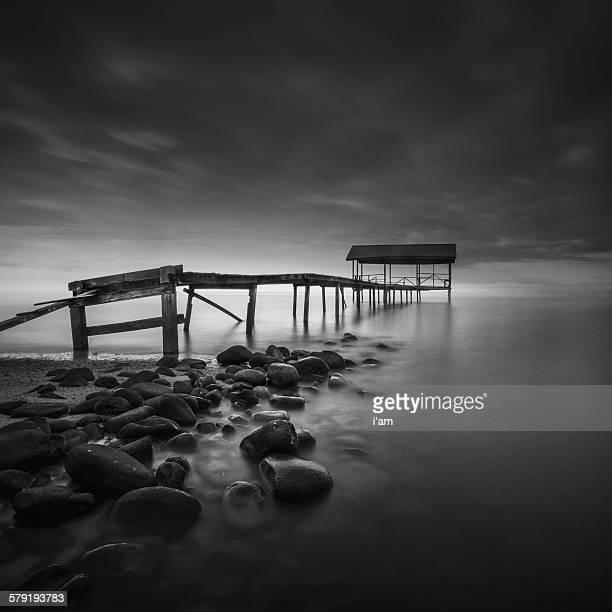 The dark pier