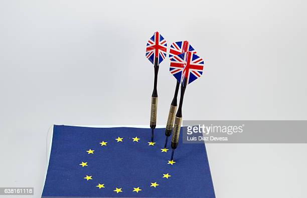 The darts of Brexit.