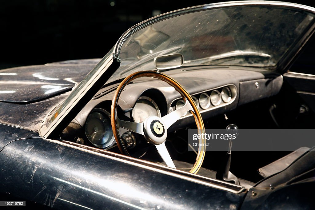 The Dashboard Of The Ferrari 250 Gt California Swb Spyder Displayed