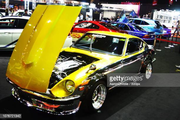 the datsun 240z - datsun stock pictures, royalty-free photos & images