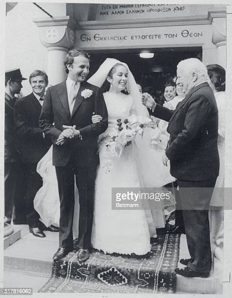 The Daughter is a Bride Lausanne Switzerland Josephine Chaplin third daughter of American film comedian Charlie Chaplin comes from a Greek Orthodox...