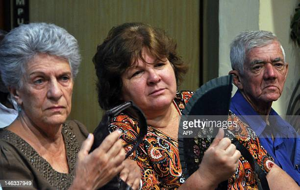 The daughter of Argentineborn Cuban revolutionary leader Ernesto Che Guevara Aleida Guevara March attends the presentation of a new book on...
