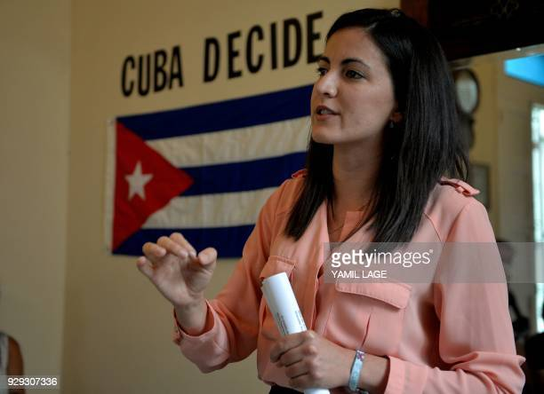 The daughter of late Cuban dissident Oswaldo Paya Rosa Maria Paya who leads the Latin American Youth Network for Democracy which grants a prize named...