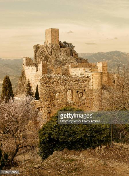 The daunting 11th century fortress of La Iruela in Cazorla, Jaen, Spain