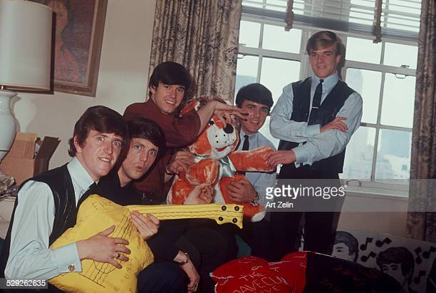 The Dave Clark Five at the Warwick Hotel in Midtown Manhattan The photographer had a fake press pass and told the band he was a journalist circa 1970...