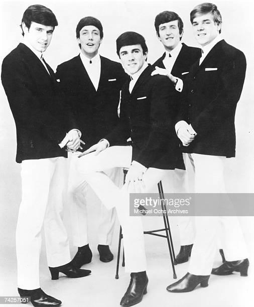 The Dave Clark Five pose for a portrait in circa 1963 Denis 'Denny' Payton Mike Smith Dave Clark Rick Huxley Lenny Davidson